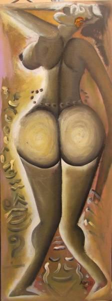 Tableau d'art africain ; DJEKE