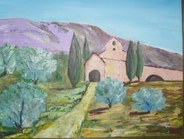 chapelle sixte à Eygalière