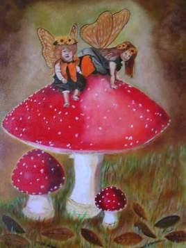 Les petites fées aux champignons