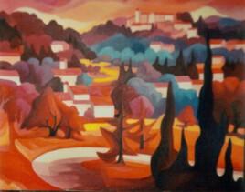 Village en Provence de Pierre Donzelot