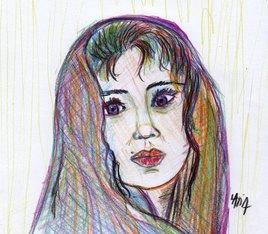 Portrait rapide femme