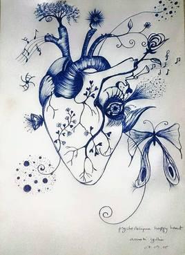Psychedelique Happy Heart