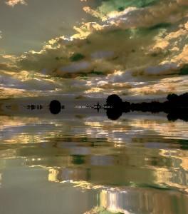 Un jour sur le lac.