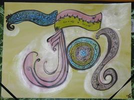 travail d'après calligraphie 2