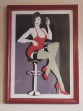 femme et son verre de vin