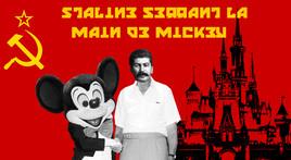 Staline se réconcilie avec Mickey Mouse