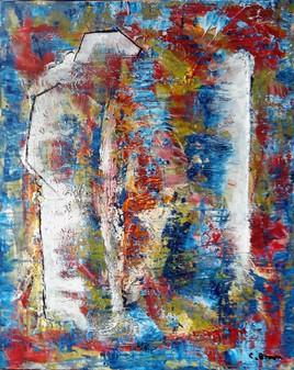 évocation - abstrait coloré