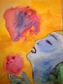 Tentative d'union entre une âme éprise d'idéale et un cœur disloqué