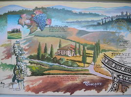 Carnet de voyage en Toscane