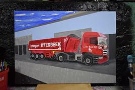Camion en acrylique