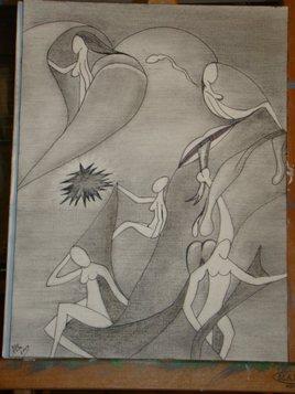 éros drawing-