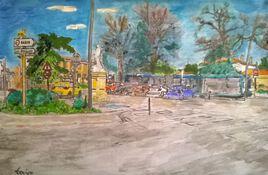 Arret de Bus 61 Tisséo (Mairie) Terminus MONTBERON