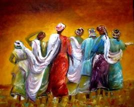 Femmes africaines Retour de peche