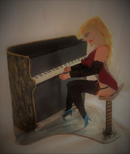 baboonette pianiste