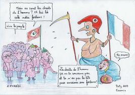 La monarchie marocaine se cache sous les jupes de la république