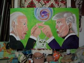 """ Swordsmen ...""   ( Joe Biden vs Donald Trump )"
