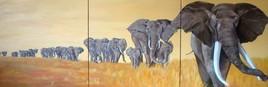 TROUPEAU ELEPHANTS