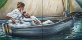 Amoureux au voilier
