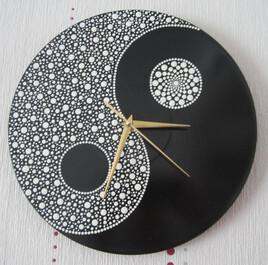 Horloge yin yang