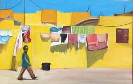 Une rue en afrique