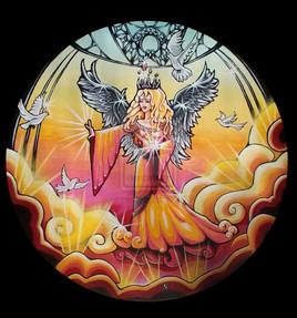 Ange de la paix