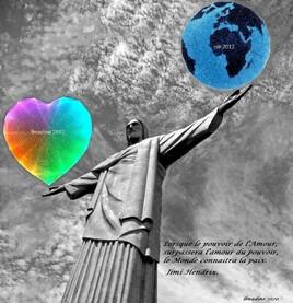 Le Christ Rédempteur à Rio de Janeiro revisité..