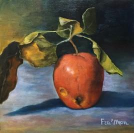 Une pomme oubliée