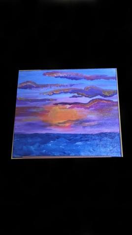 Crépuscule marin