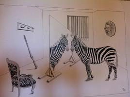 la vengeance du zebre