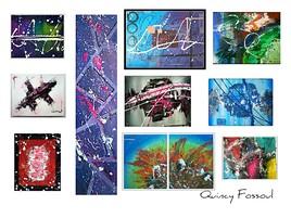 Petite compilation de mes toiles
