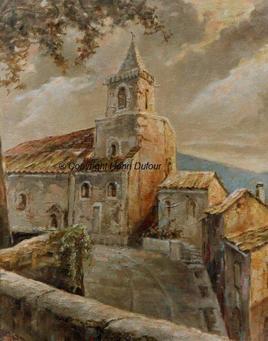 Eglise Notre Dame à Venasque