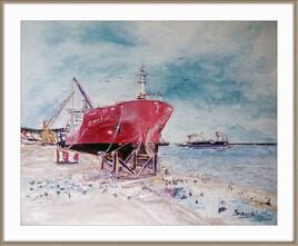 Quai du port de Bejaia