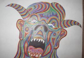 Face de monstre 2
