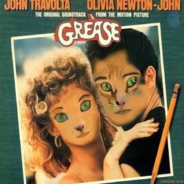 Grease revisité , avec Mioumiou et Grisou ! :)