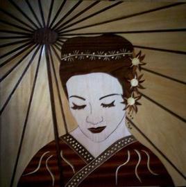 Timide Geisha