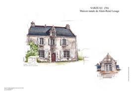 SARZEAU - Maison natale d'Alain LE SAGE