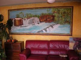 Cascade murale