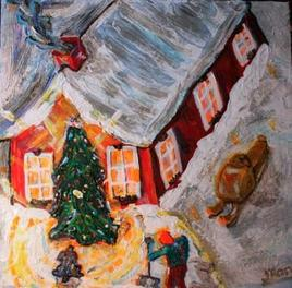Oh ma neige, manège de Noël