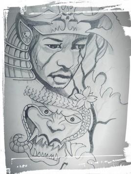 démon samouraî