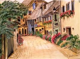 Free Alley in Eguisheim