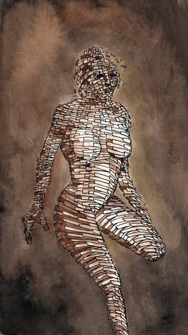 femme fragmentée