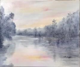 Rivière au petit matin