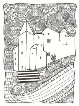 Château noir château blanc