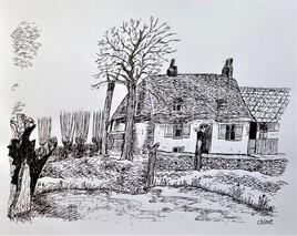 Cense flamande à Wormhout début 20ème siècle