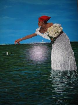 tableau peinture paysage mer peinture