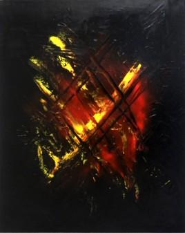 Tableau  Art Abstrait (4)