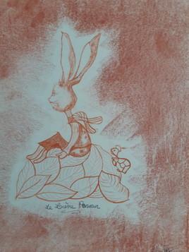 Le lapin penseur