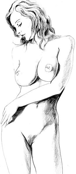 Dessin femme 4