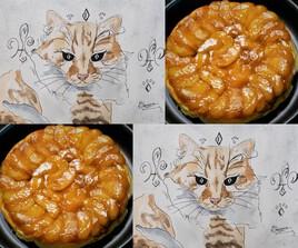 Chat roi Caramel