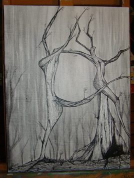 foret abstraction figurative